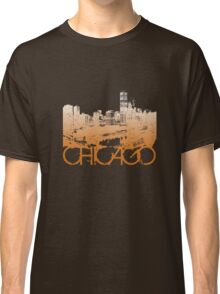 Chicago Skyline T-shirt Design Classic T-Shirt