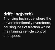 Drift Definition White by 2007bc