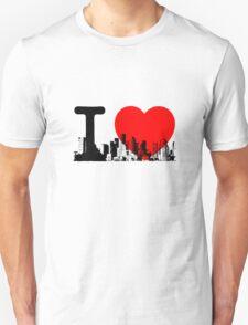 I Heart New York Skyline T-Shirt