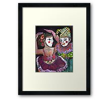 Just Clowning Framed Print