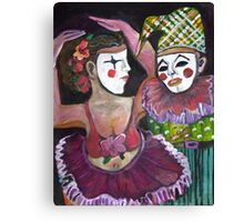 Just Clowning Canvas Print