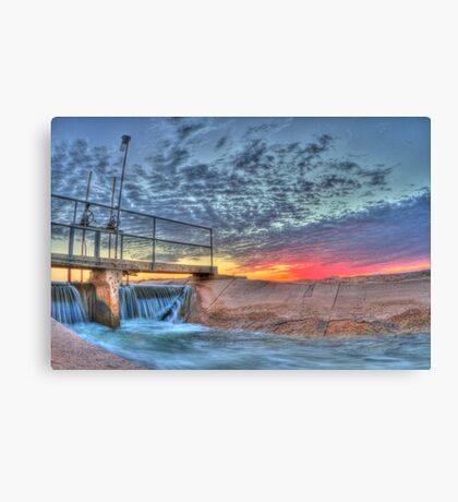 Sunrise Irrigation Canvas Print