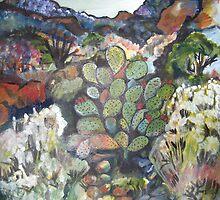 San Felipe Landscape by Ruth OLIVAR MILLAN
