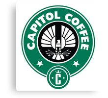 Capitol Coffee Canvas Print