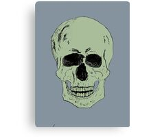 Pen and Ink Skull Canvas Print