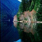 Crescent Lake, Washington by jeff lamb