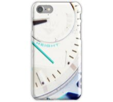 Watching the Time iPhone Case/Skin