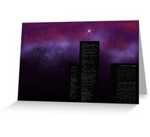 Mystery Night Greeting Card