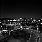 Las Vegas in black and white by Nenad  Njegovan