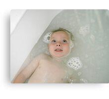 Bath Night Canvas Print