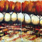 Autumn Walk by Ira Mitchell-Kirk
