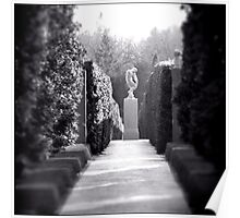Sculpture Garden no.1 Poster