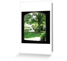 Through the hall door (Long Island) Greeting Card