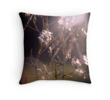 Flowers Contemplating Humanism no.1 Throw Pillow