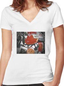 Triumph Thruxton Women's Fitted V-Neck T-Shirt
