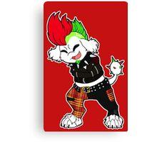 Punk Poodle Canvas Print