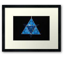 Spiritual Kloth TetraH by Kordial Orange Framed Print