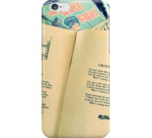 Growing Up with Books iPhone Case/Skin