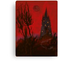 Nightmare Whispers Tower Canvas Print
