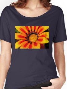 Flower in Detail Women's Relaxed Fit T-Shirt