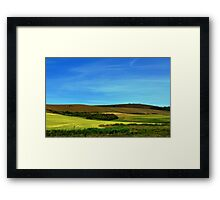 Fields at Compton Framed Print