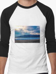 Beach Sunset Men's Baseball ¾ T-Shirt