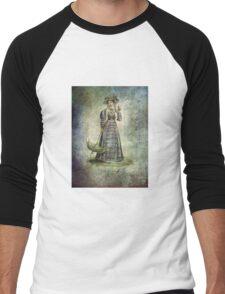 FASHIONABLE LADIES CARRIAGE DRESS Men's Baseball ¾ T-Shirt