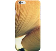 Mushrooms Down Under iPhone Case/Skin