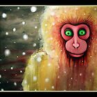 cryptozoology :the lucca snow monkey by Julielukearts