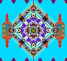 Jesus Mandala by mandaladon