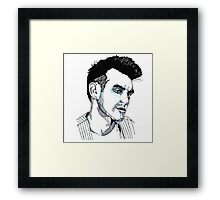 This Charming Man Framed Print