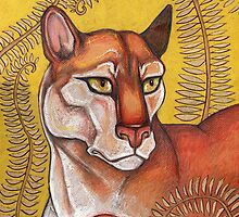 Goldeneye (The Cougar) by Lynnette Shelley