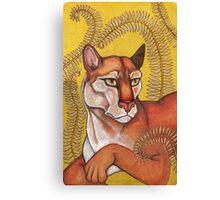 Goldeneye (The Cougar) Canvas Print