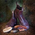 Well Loved RM Williams boots by Janet Rogerson