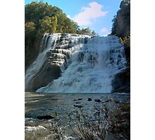 Ithaca Falls View #2 Photographic Print