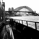 Sydney Harbour Bridge from a Ferry by Ashlee Betteridge