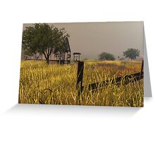 """Along the """"Mother Road""""  Route 66 Greeting Card"""