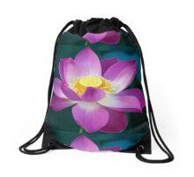 Spiritual Kloth Plotus by Kordial Orange Drawstring Bag