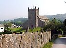 Hawkeshead Church, Lake District, UK. by Roy  Massicks
