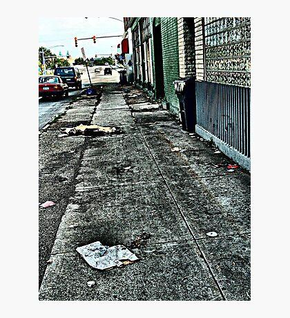 City Scene Photographic Print