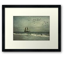 Where Have I Known You Before Framed Print