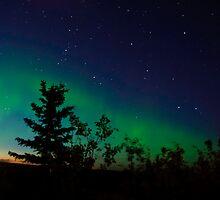 A Mid-Summer's Night Aurora Dream by peaceofthenorth