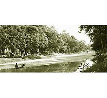 Siem Reap River Photographic Print