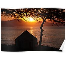 Sunset Wonders - Niteroi, Rio de Janeiro - Brasil Poster