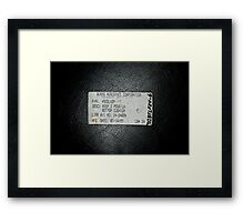 Burns Aerospace Corporation Framed Print