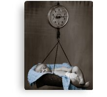 Weighing On My Heart Canvas Print