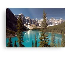 Lake Louise 2 Golden Images Metal Print