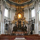 "Cathedra Petri or ""Throne of St. Peter"" by Vanessa Goodrich"