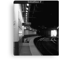 Location F Canvas Print