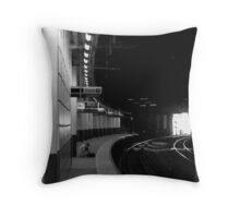 Location F Throw Pillow